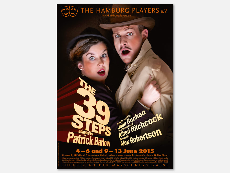 Poster für The 39 Steps