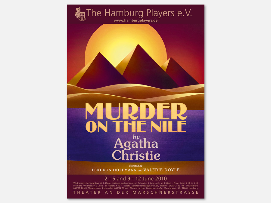Murder on the Nile von agatha Christie